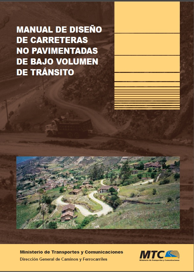 Manual para el dise o de carreteras no pavimentadas de for Manual de diseno y construccion de albercas pdf